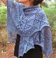 Xale Azurita