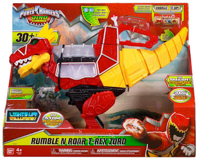 TOYS : JUGUETES - Power Rangers : Dino Charge  Rumble and Roar T-Rex Zord | Figura - Muñeco  Producto Oficial Serie 2015 | Bandai 42060 | A partir de 4 años  Comprar en Amazon España & buy Amazon USA