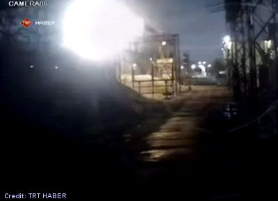 Fireball Falls into the Black Sea Near Ordu, Turkey - Light & Boom Caught on Camera 12-13-12