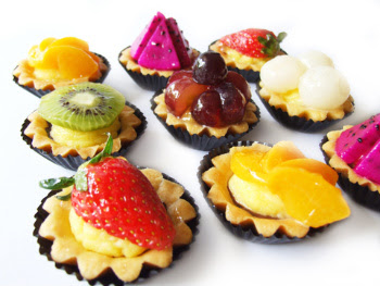 Receita de Tortinhas de frutas
