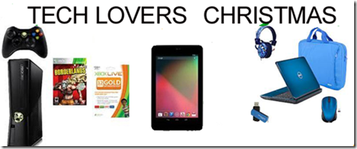 Tech Lovers Christmas Giveaway