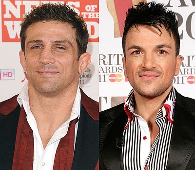 Alex Reid and Peter+Andre Which celebrity is the youngest?