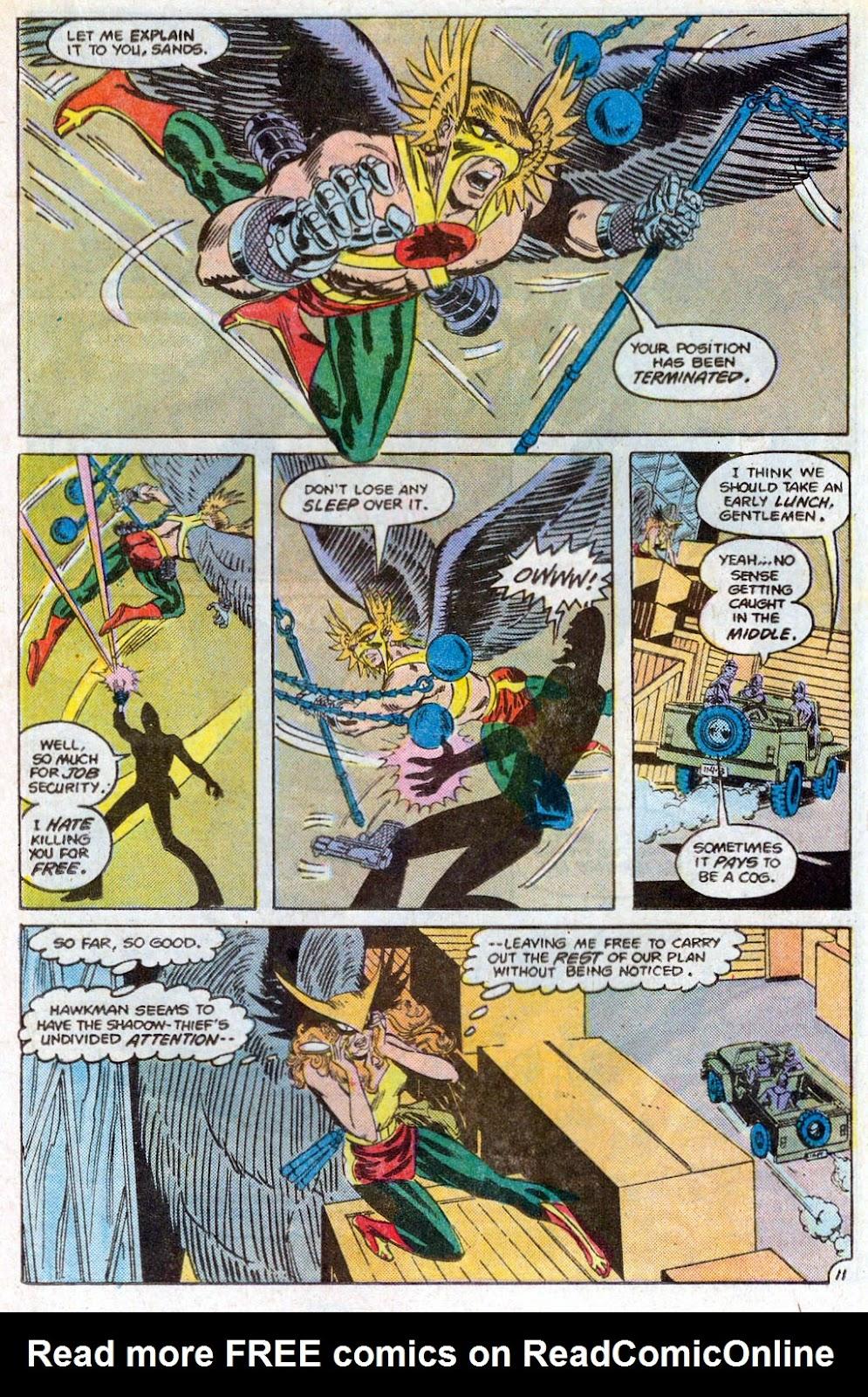 Hawkman (1986) Issue #3 #3 - English 14
