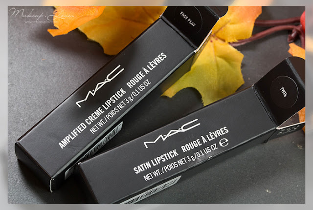 MAC Amplified Lipstick Fast Play Satin Lipstick Twig