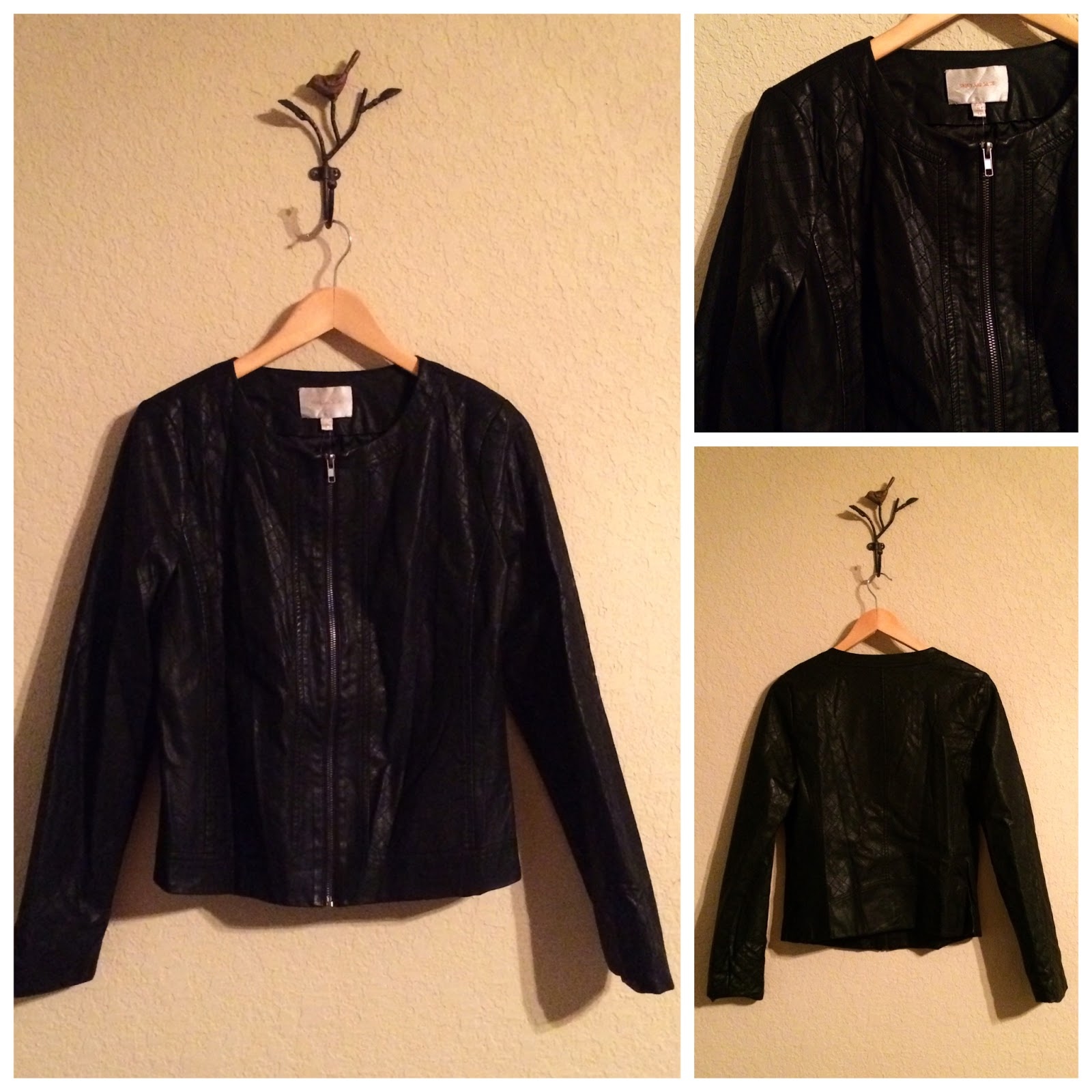dennis basso qvc com zip front quilt page leather diamond faux product quilted jacket