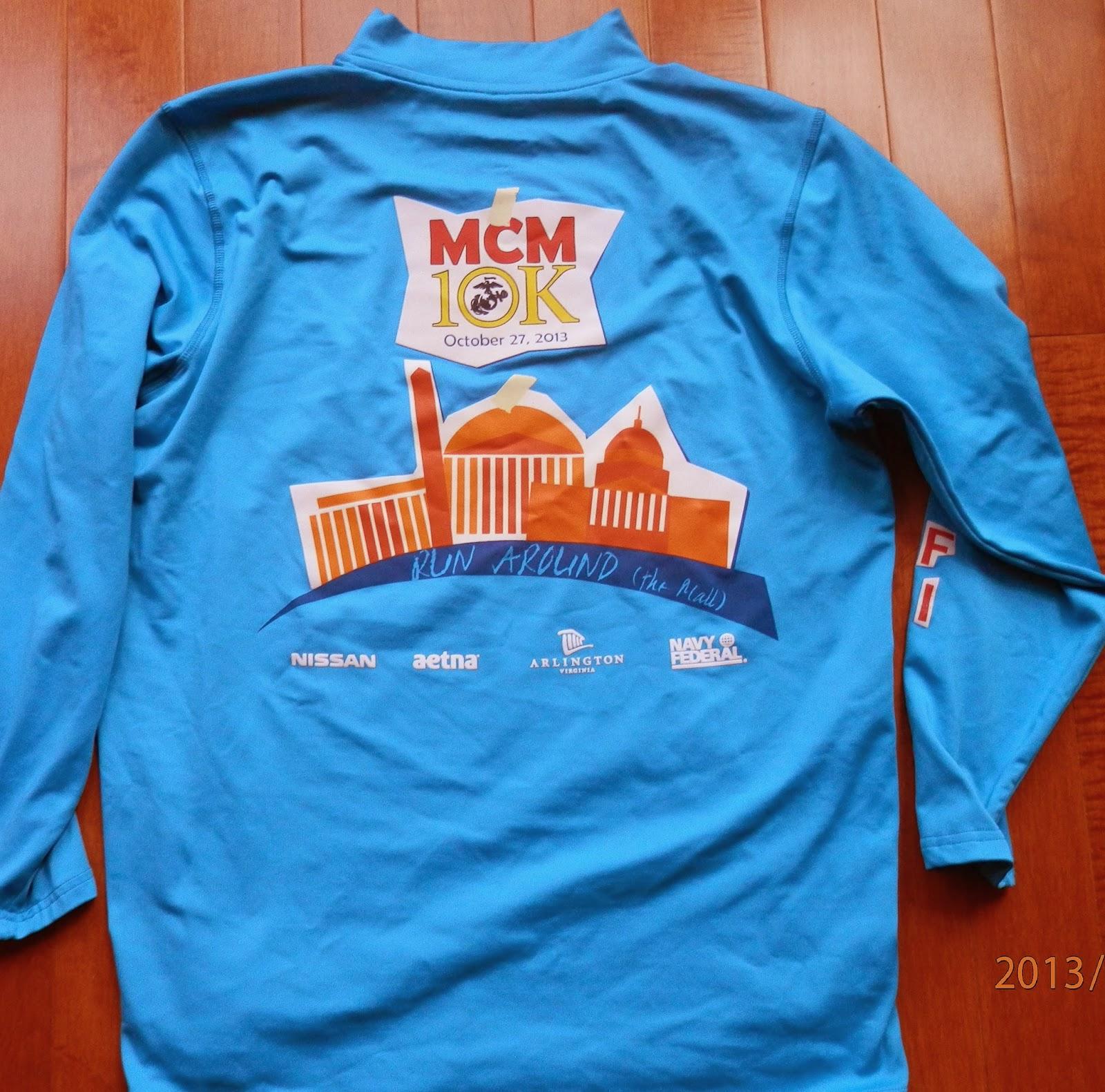 saundra marine corps marathon 10k race 2013