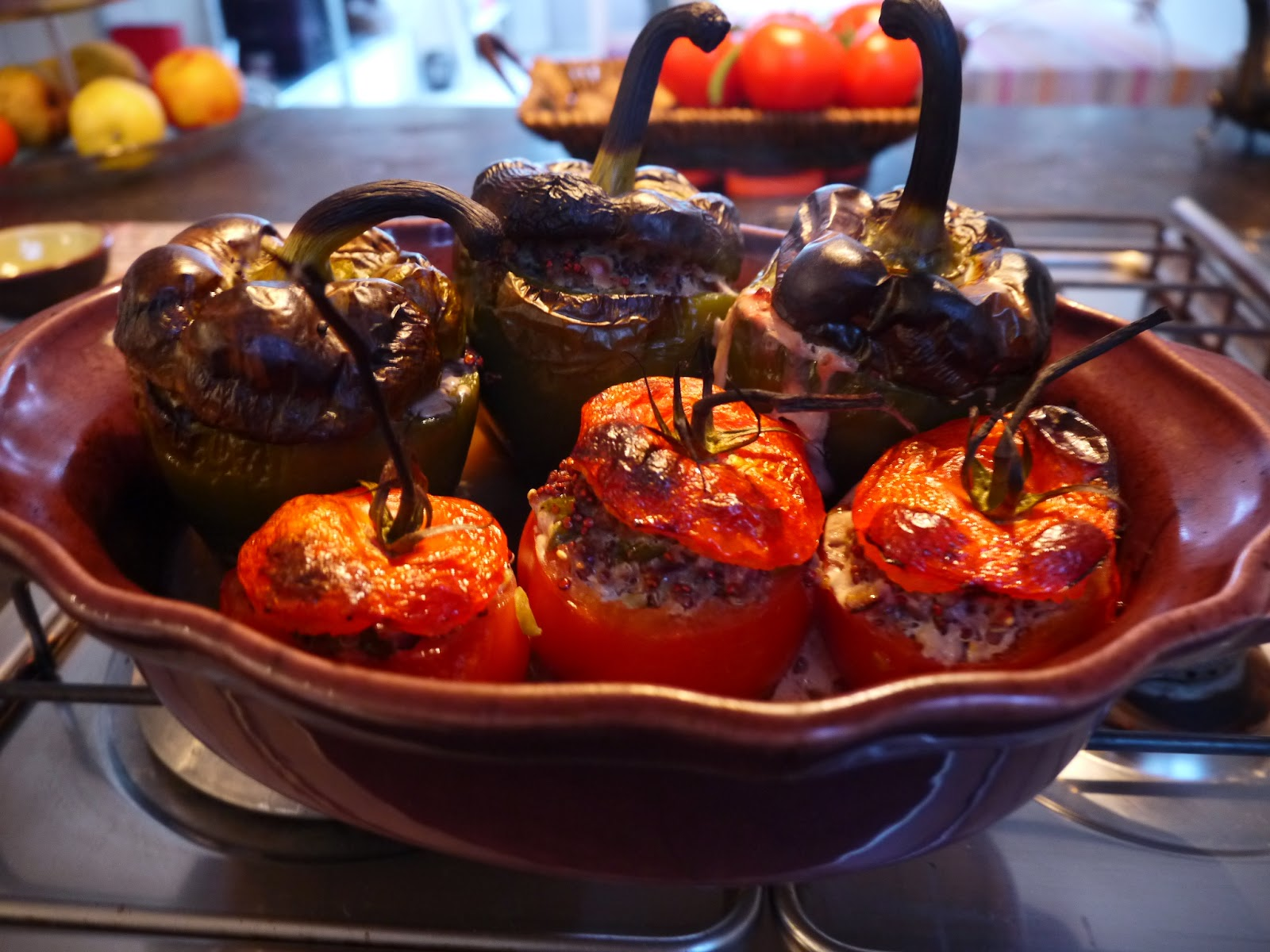 New age stuffed tomatoes by Appetit Voyage