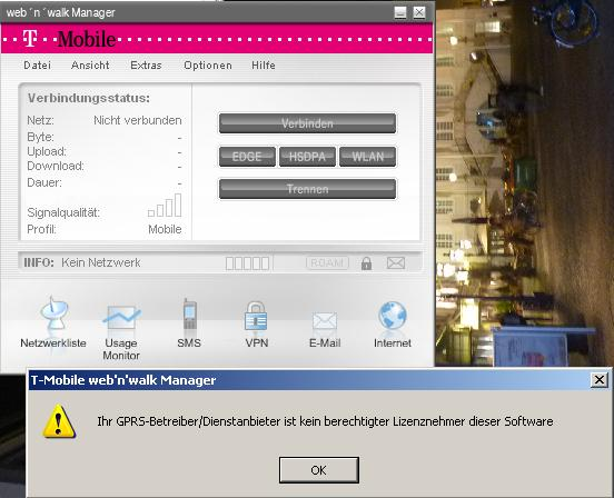 web n walk manager software