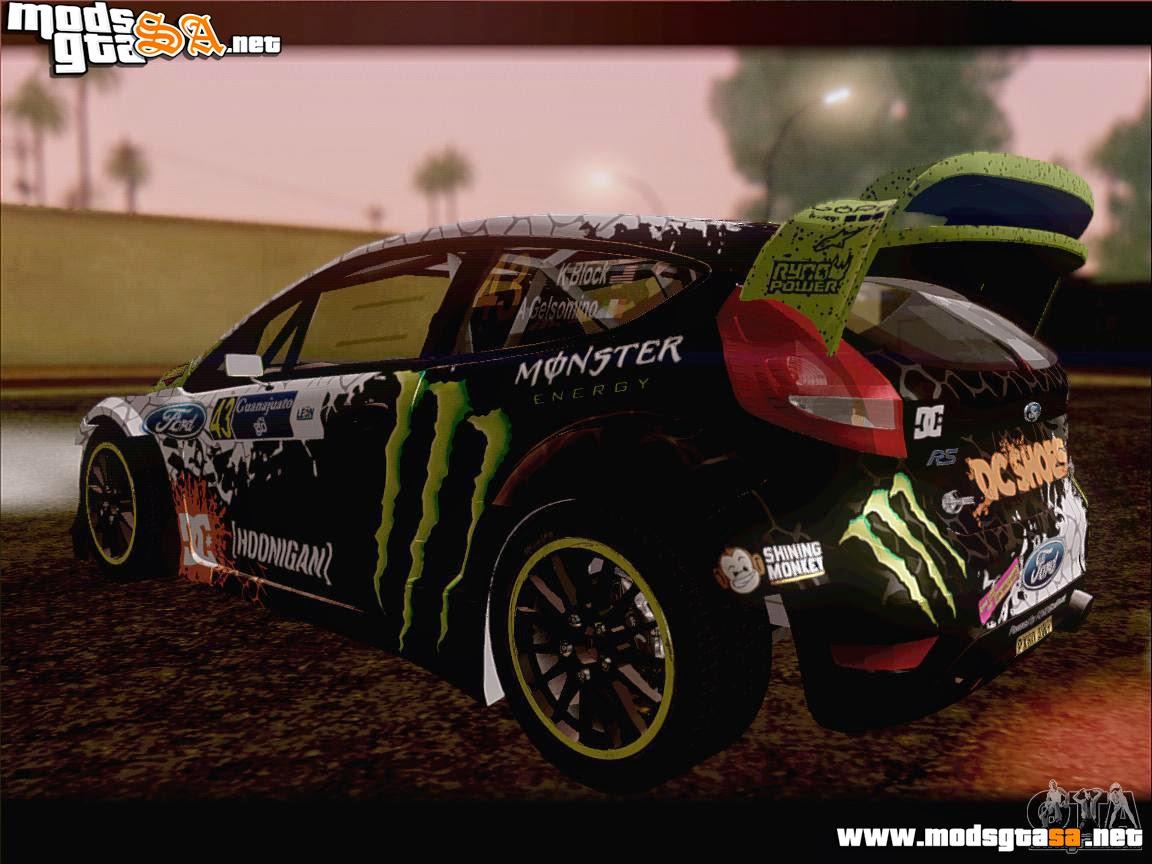 SA - Ford Fiesta RS WRC 2013