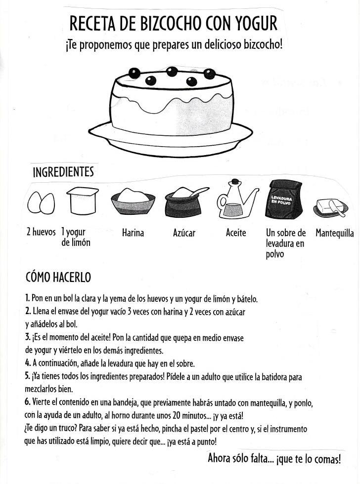 Textos narrativos textos instructivos - Grado en cocina ...