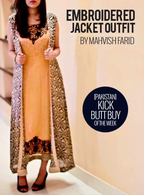 PAKISTAN KickButt Buy Of The Week Embroidered Jacket