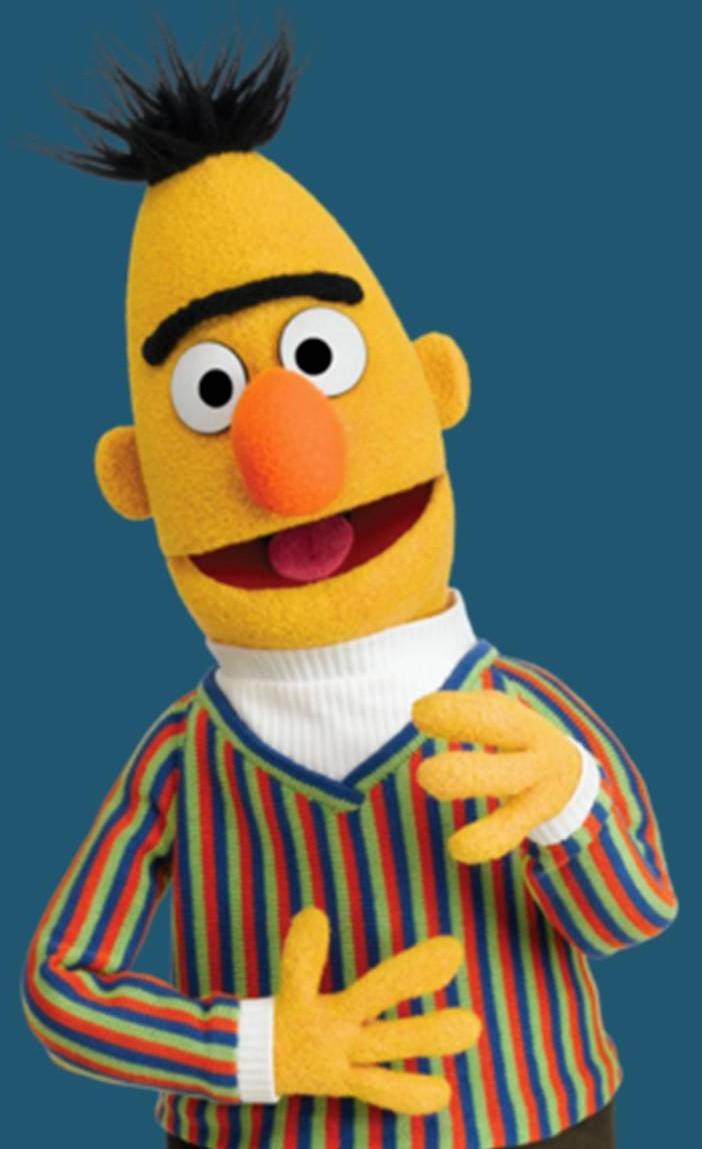 Sesame Street Sperm Bert Ernie
