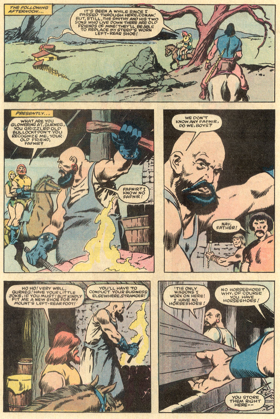 Conan the Barbarian (1970) Issue #163 #175 - English 11