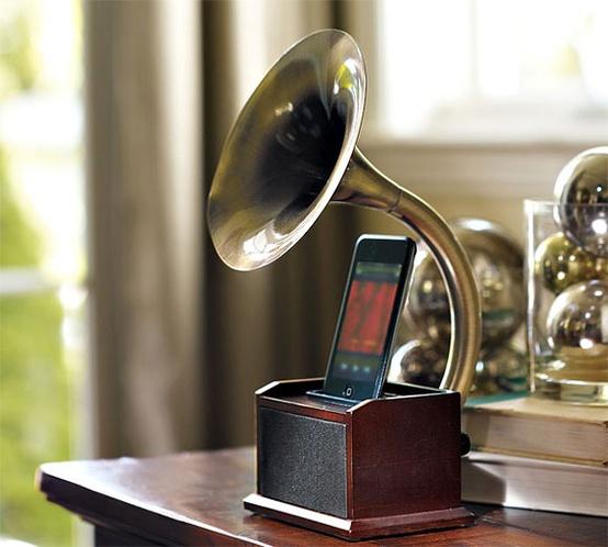 gramofono para iphone