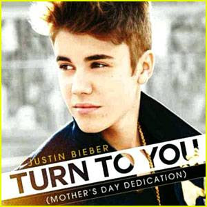 Who wrote Justin Bieber Turn To You text lyrics cover