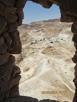 The Roman Siege Tower Ramp, from which the Jewish defenders of Masada finally met their demise.