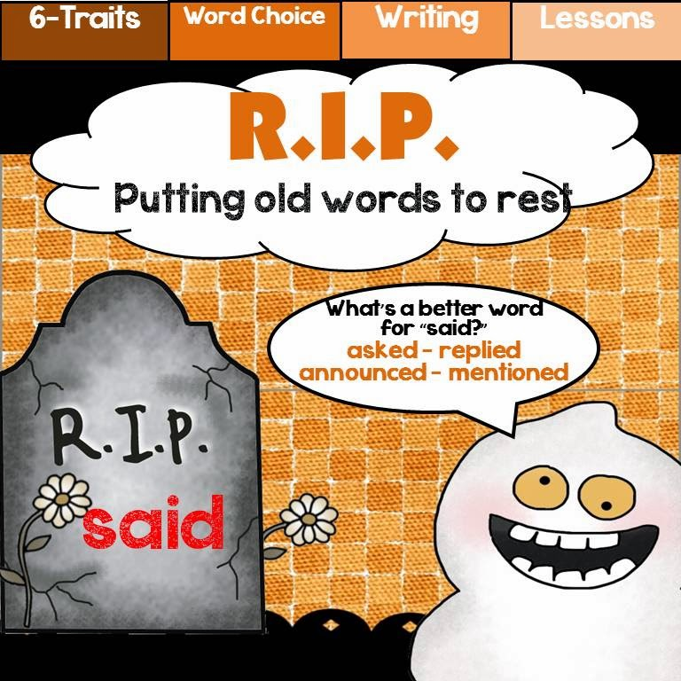RIP Word Choice Activity
