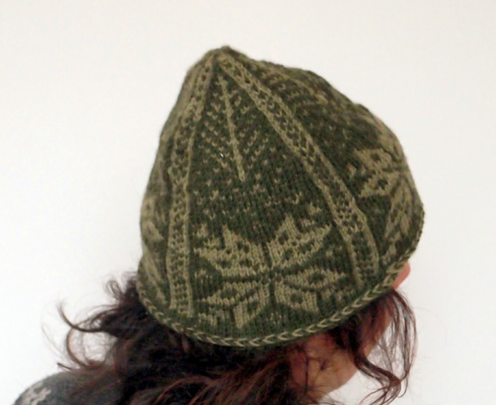 Mini Tomten Hat - colorwork knitting gift