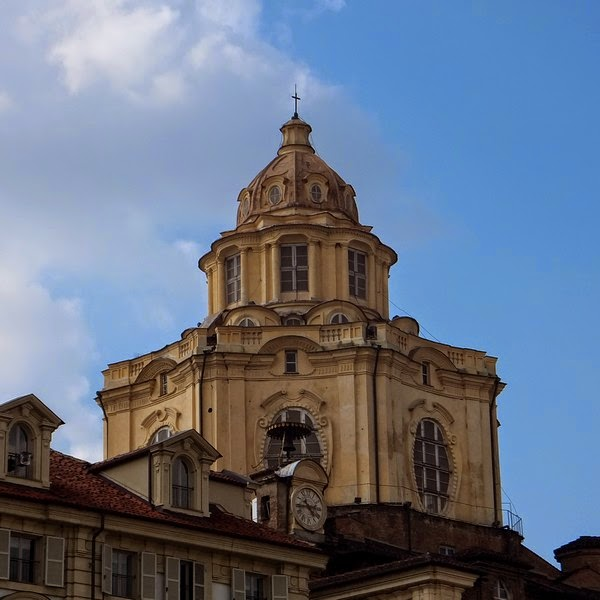 Turin Italie église san lorenzo chiesa