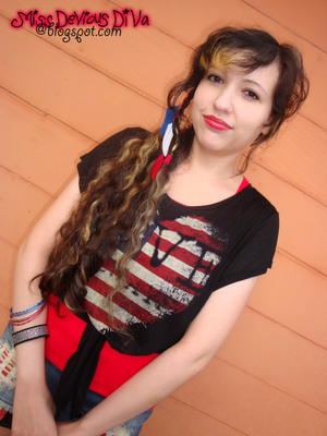 Miss DeVious DiVa 4th Of July Outfit 2