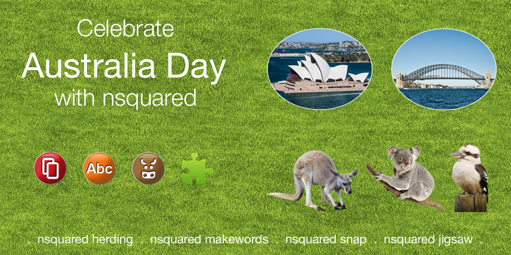 Happy Australia Day from nsquared