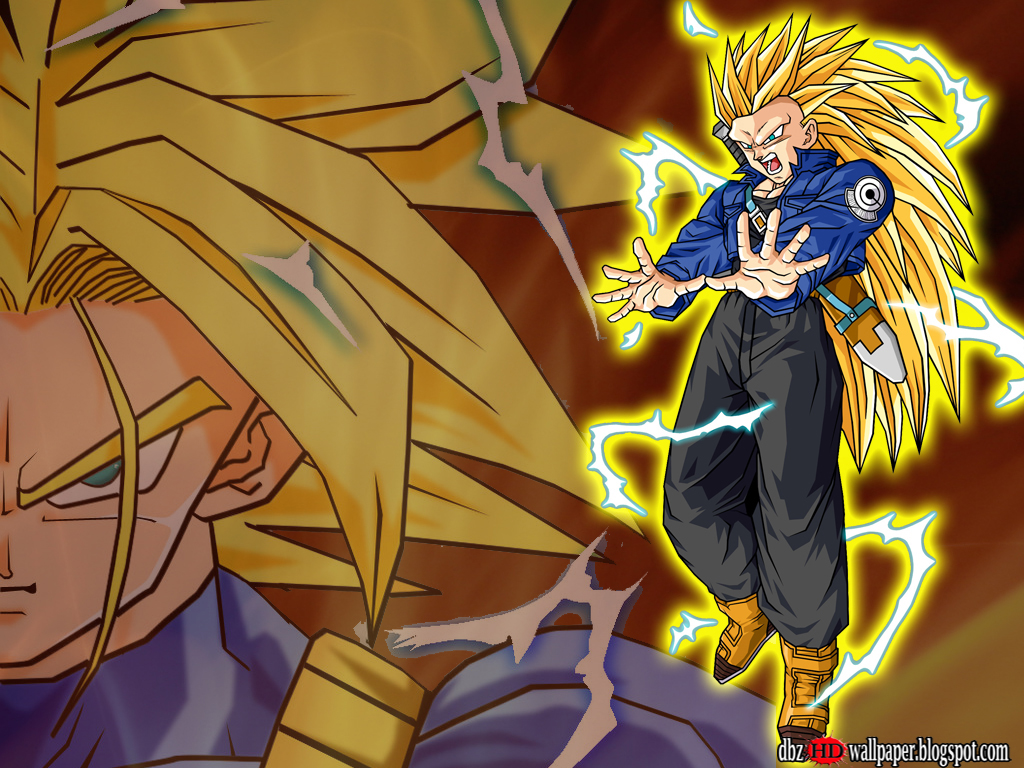 Trunks Super Saiyan 3 Wallpaper