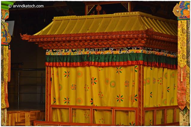 Tibetan Art, Bhattu, Monestery, Baijnath, Himachal Pradesh,