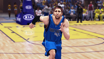NBA 2K13 Dirk Nowitzki Face with Beard Update