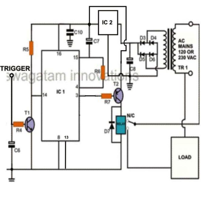 simple flip flop circuits