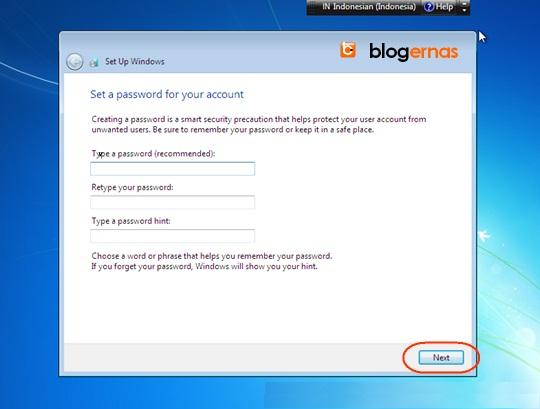 Cara Gampang Install Windows 7 pada Komputer (Full Gambar)