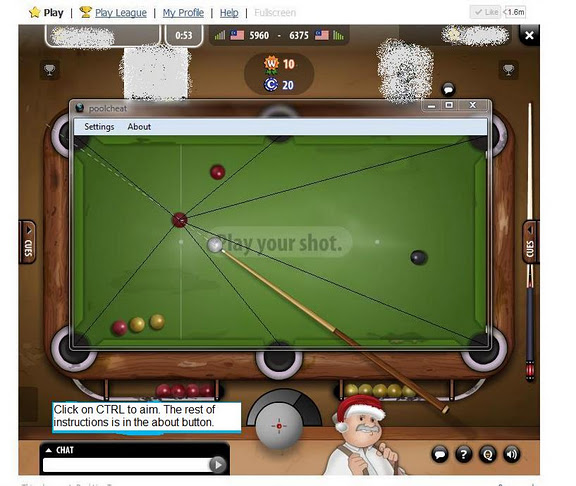 pool live tour cheat hack bot download facebook image