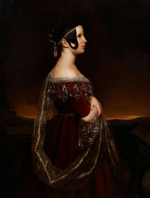 Lady with Pearls,ary scheffer,5 stars