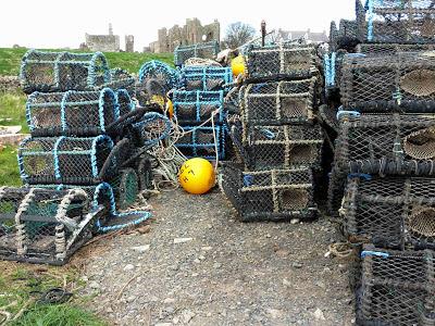 Lobster pots, Lindisfarne