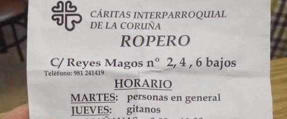 Discriminación en Cáritas A Coruña