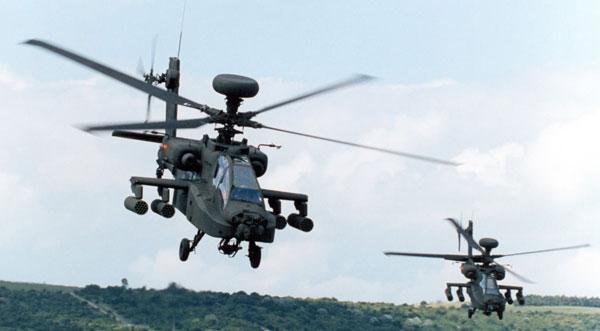 Militer India Membeli 37 Helikopter Apache dan Chinook