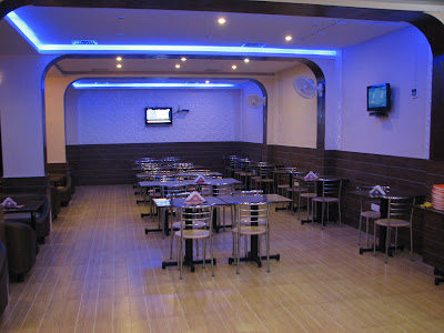 inside view of food code karjat restaurant