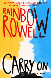Reading Carry On by Rainbow Rowell