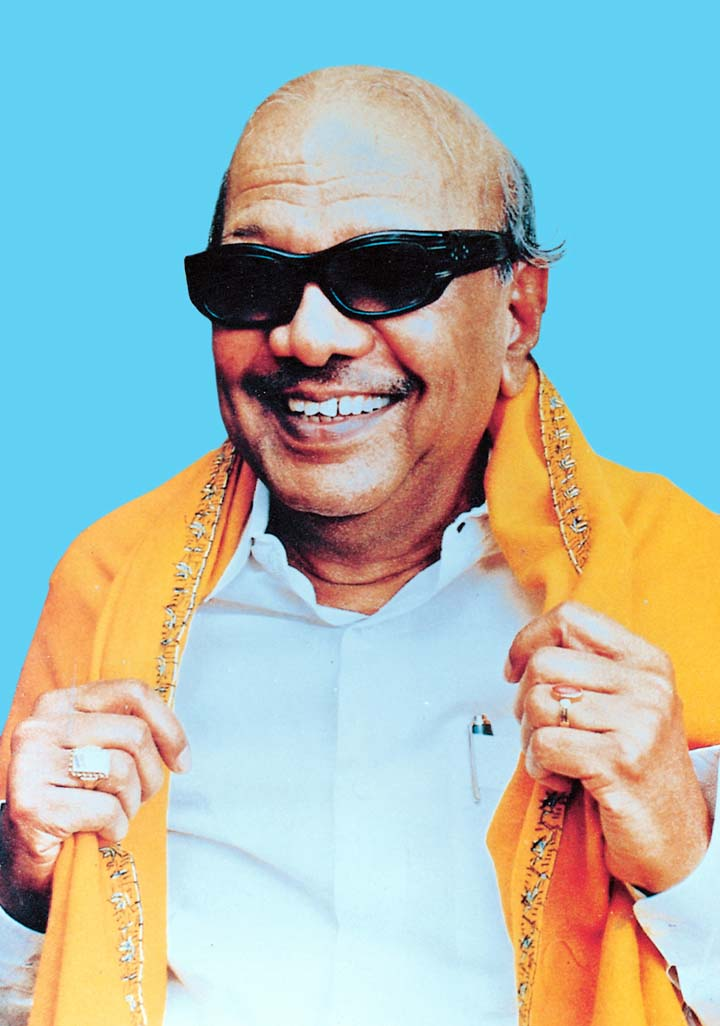 clip arts and images of india  kalaignar mu karunanidhi