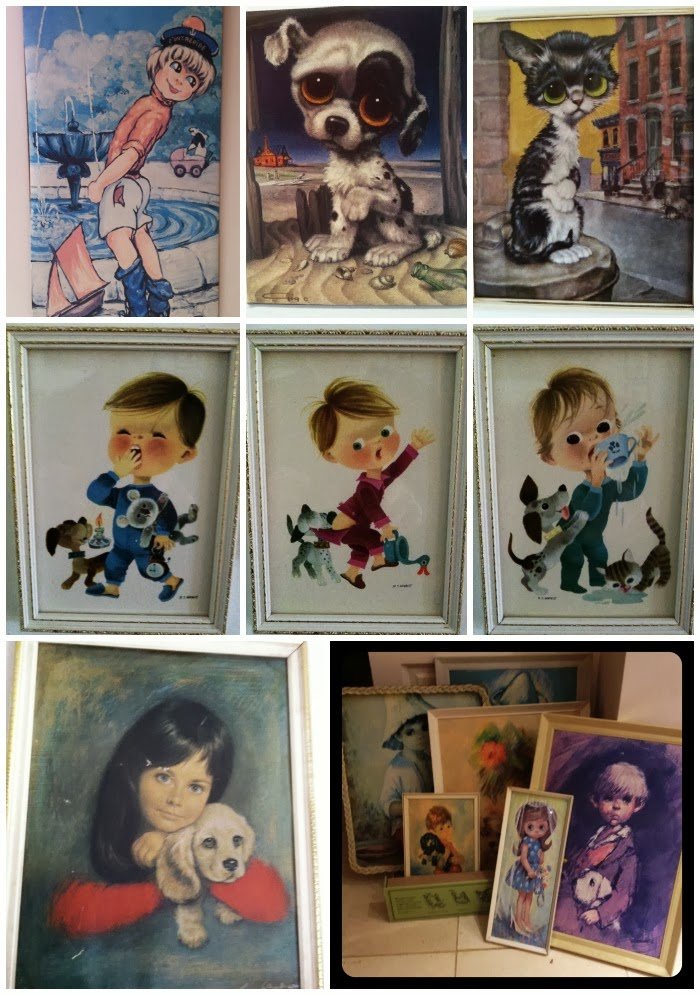 Vintage Big Eye Art Collection Geekisnewchic_5
