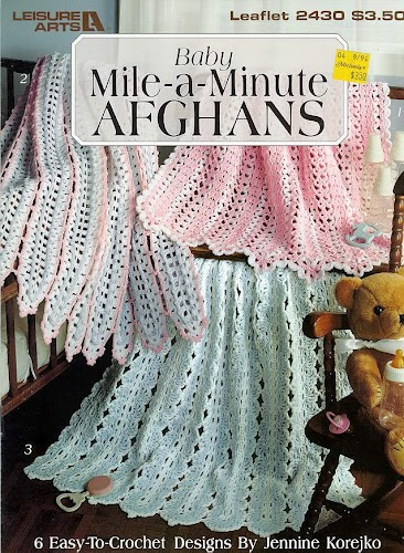 Crochet Patterns; Granny Square Afghan - Craft instructions, craft