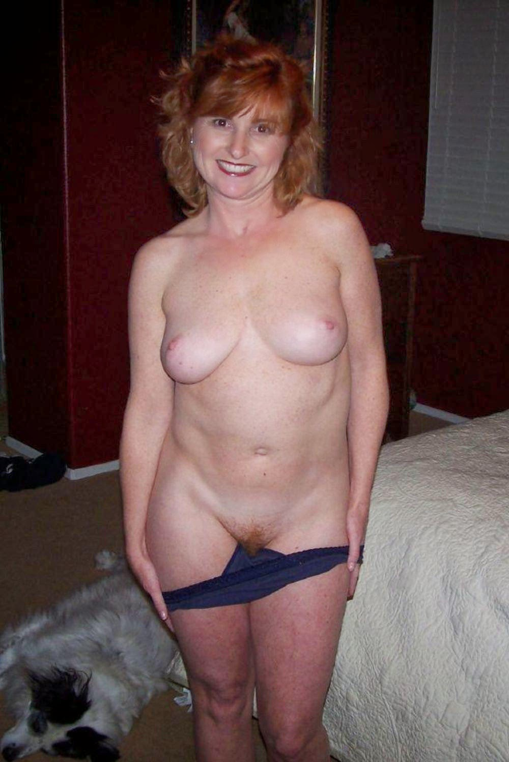 naked Middle aged wives