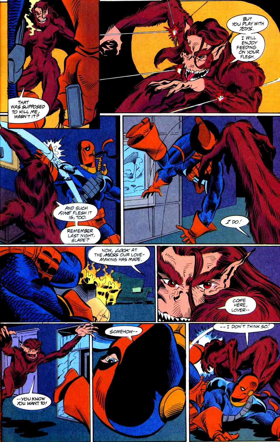Deathstroke (1991) Issue #38 #43 - English 18