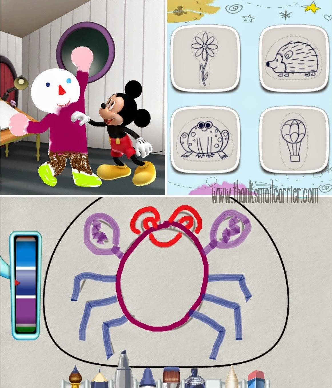Mickey's Sketch Artist