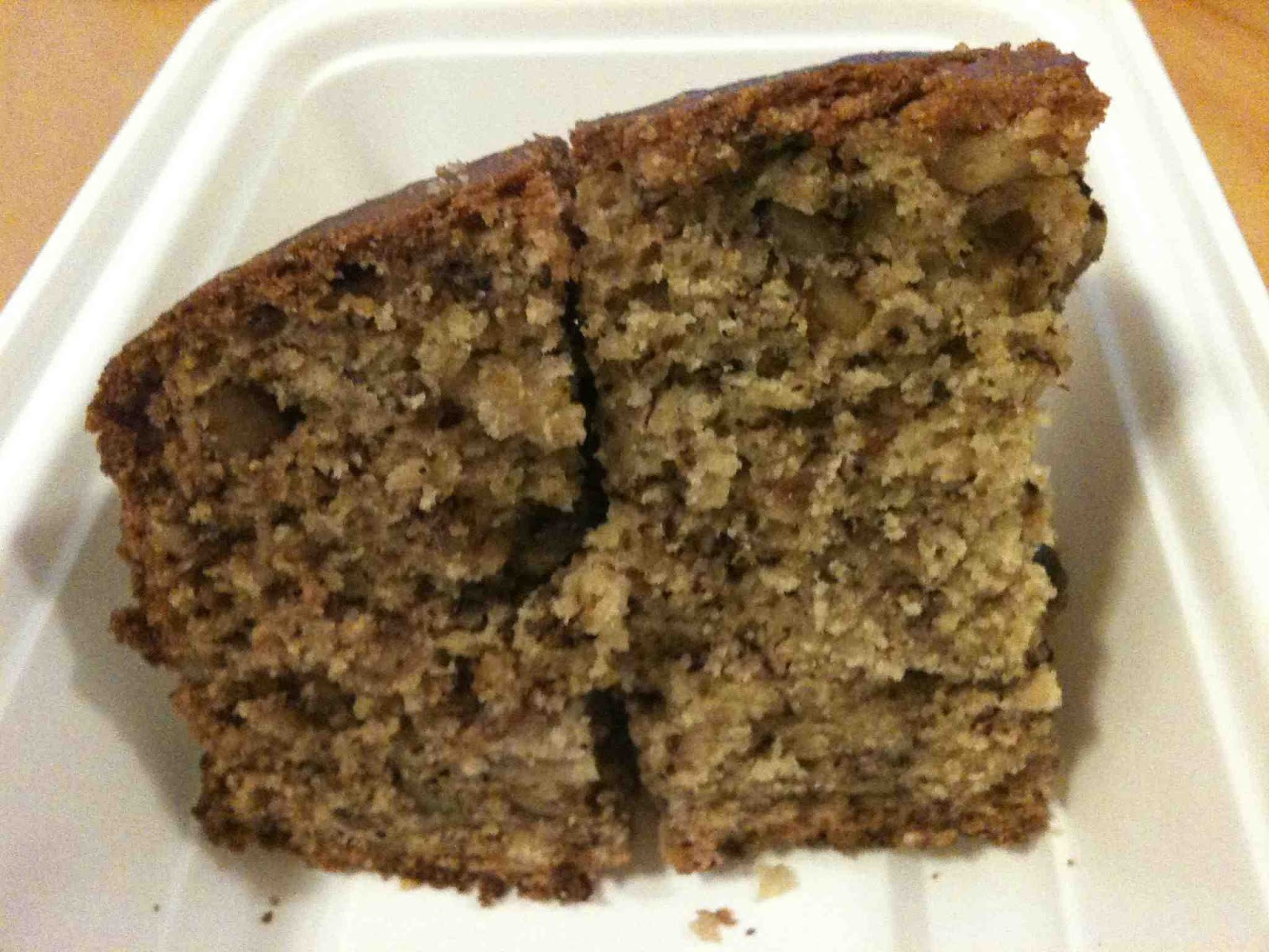 mf eats: Banana walnut cake