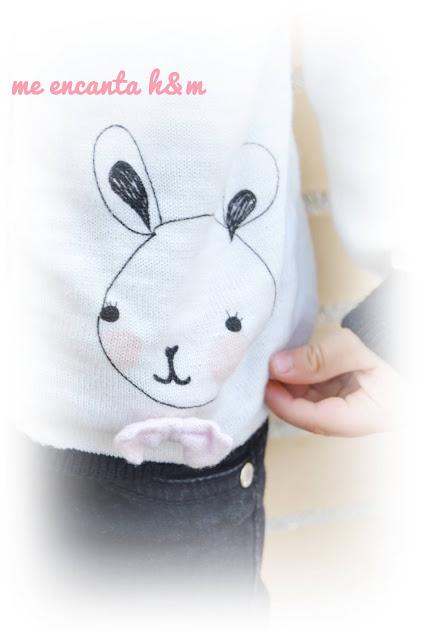 moda infantil h&m look blanco y negro