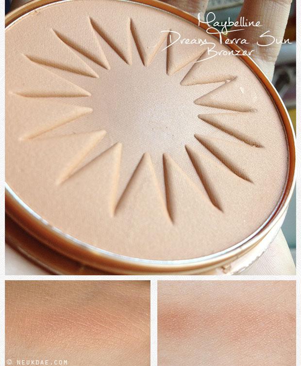 Review / Reseña: Maybelline Dream Terra Sun Bronzer