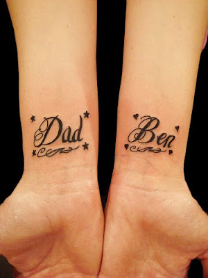 Letter Tattoos
