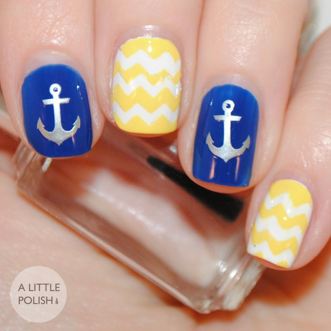 A Little Polish: Vinyl Nail Decals from Lacquer by Lissa