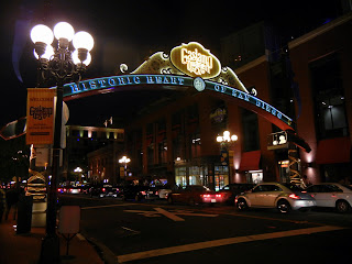 Gaslamp district of San Diego