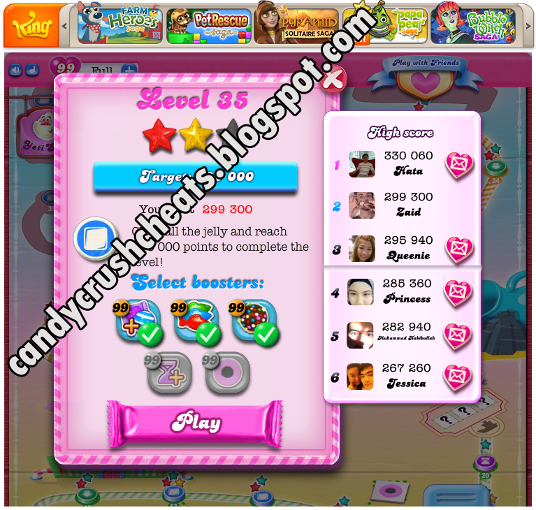 the below instructions to get Candy Crush Saga Multi Hack Tools